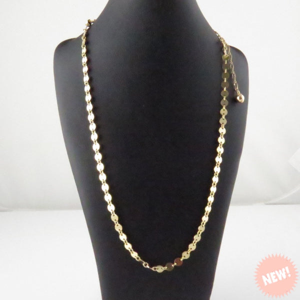 Sequin Choker - Gold