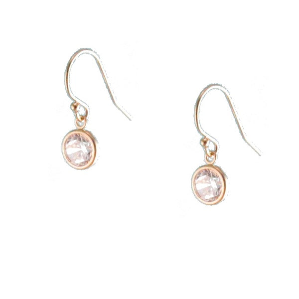 CZ Gold Earrings