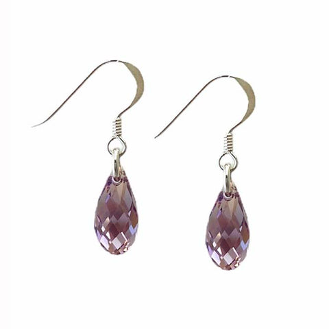 Birthstone June Teardrop Earrings