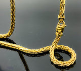 Intertwined Franco Link Necklace 55.6gr