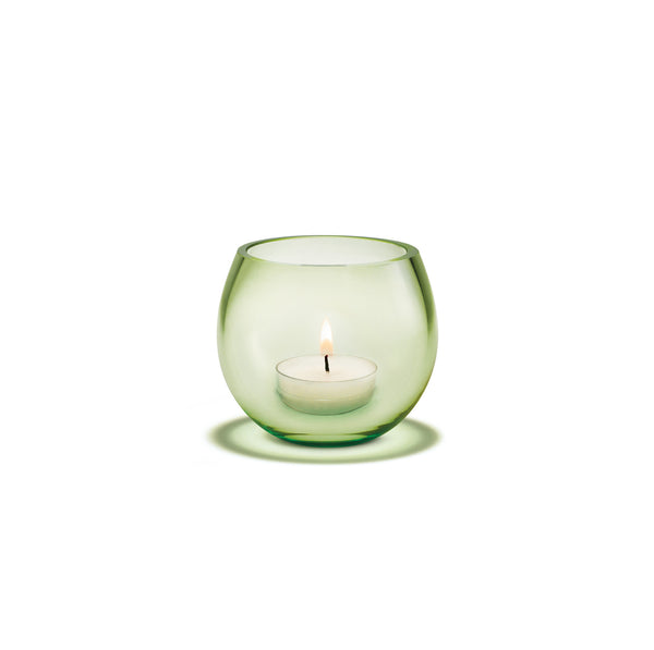 Cocoon Tealight Holder, Spring Green