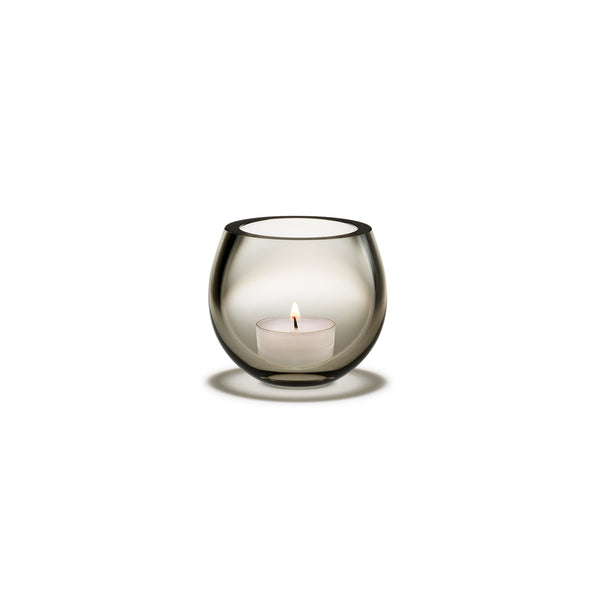 Cocoon Tealight Holder, Smoke