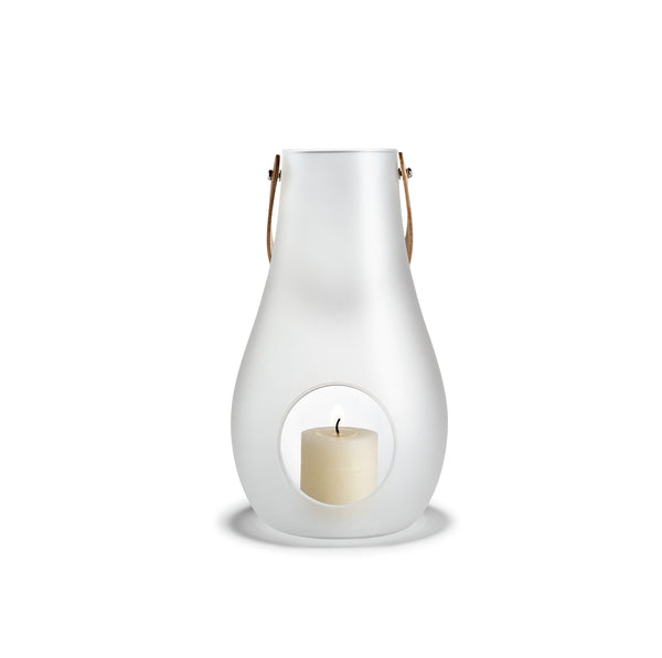 Design with Light Frosted Lantern, 11.4""