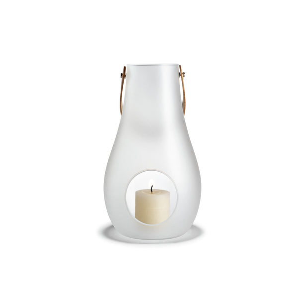 Design with Light Frosted Lantern, 17.7""