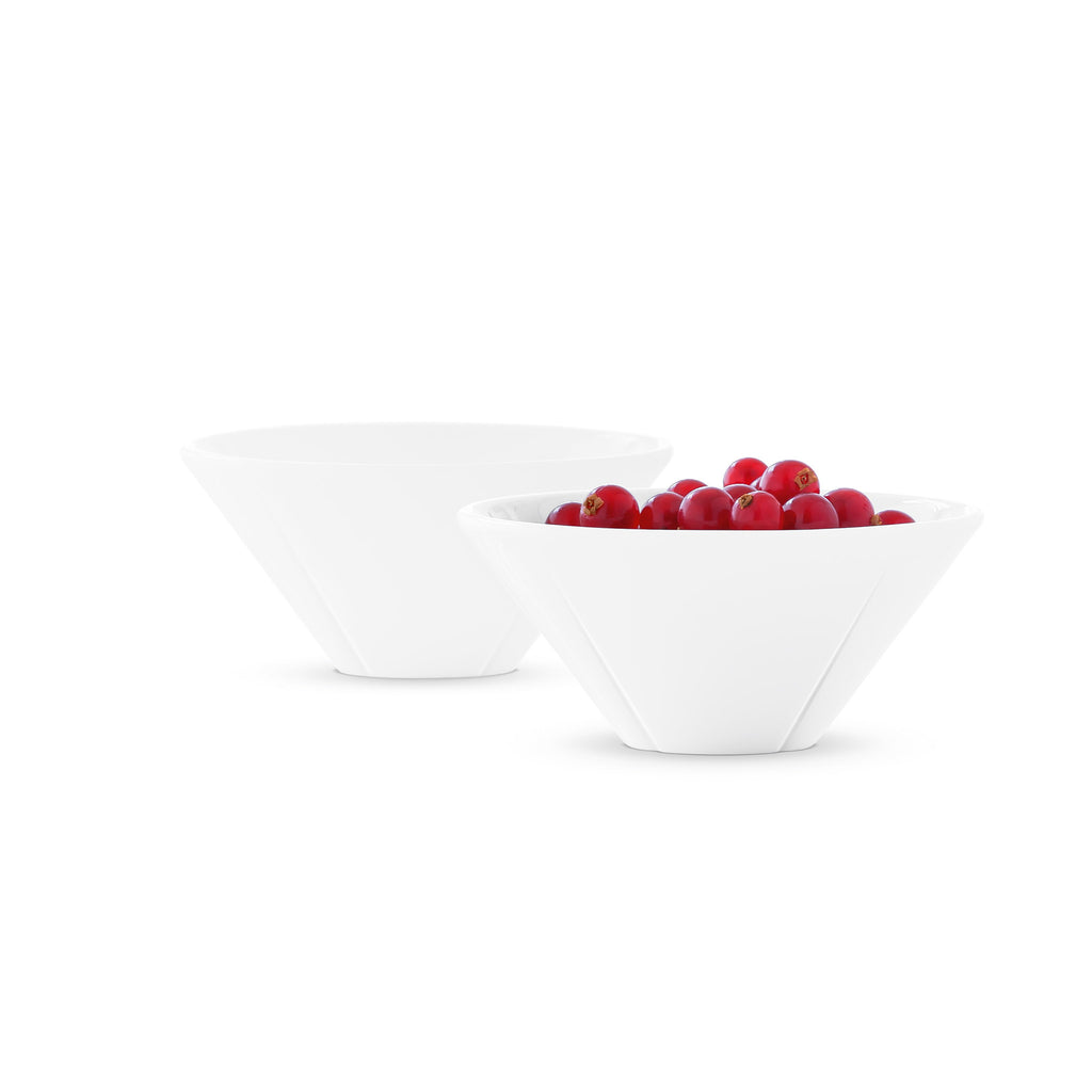 Grand Cru Bowl set of 2 - white 3.9""