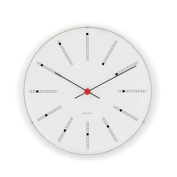 Arne Jacobsen Bankers Wall Clock, 19""