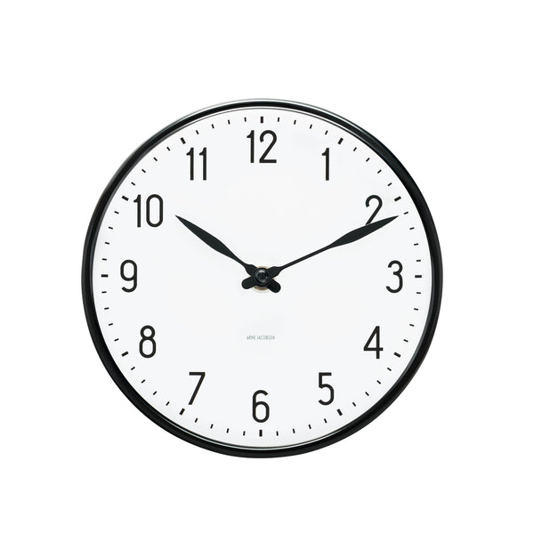 Arne Jacobsen Station Wall Clock, 19""