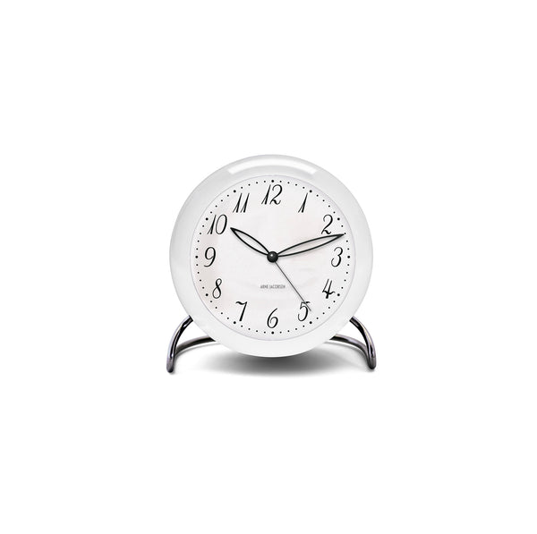 Arne Jacobsen LK Table Alarm Clock, 4.3""