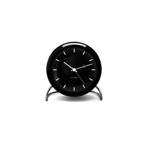Arne Jacobsen City Hall Table Alarm Clock, 4.3""