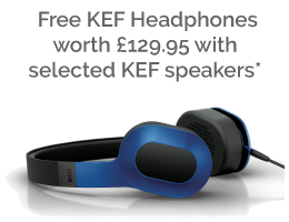 Free KEF Headphones with these KEF speakers