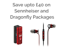 Save upto £40 on Sennheiser & Dragonfly Packages
