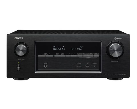 Denon AVR-X3400H AV Receiver With HEOS