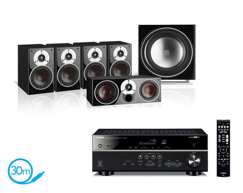 Yamaha RX-V483 AV Receiver & Dali Zensor 1 - 5.1 Speaker Package