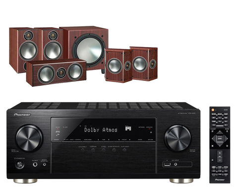 Pioneer VSX933 & Monitor Audio Bronze 2 5.1 Speaker  Package