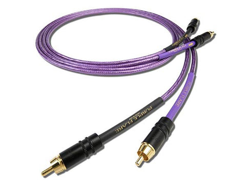 Nordost Purple Flare Interconnect (RCA to RCA) - 1.5m Pair
