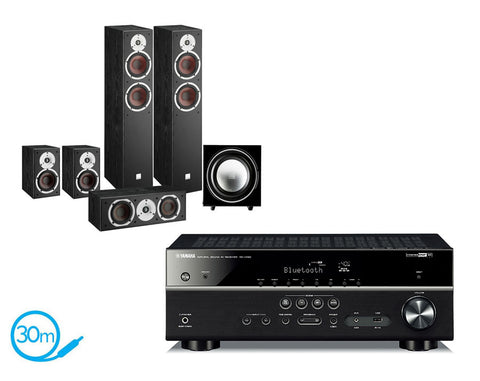 Yamaha RX-V483 AV Receiver & Dali Spektor 6 - 5.1 Speaker Package