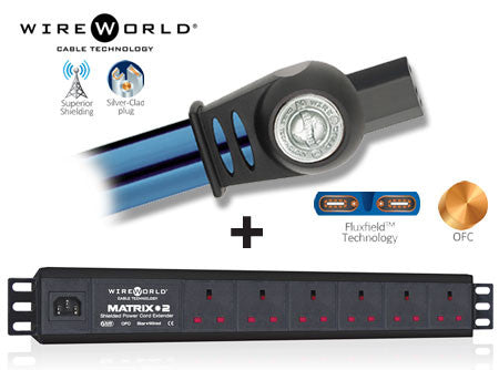 Wireworld Matrix 2 6-Way Power Cord Extender