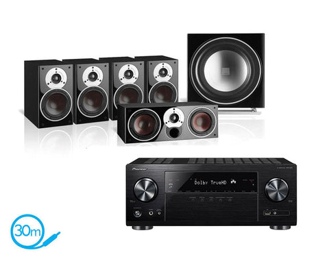 Pioneer VSX-832 AV Receiver & Dali Zensor 1 - 5.1 Speaker Package