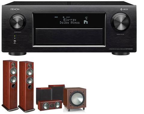 DENON AVR-X6400H AV Receiver & Bronze 5 - 5.1 Speaker Package