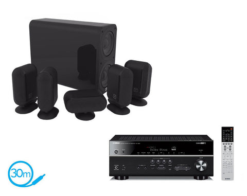 Yamaha RX-V683 AV Receiver & Q Acoustics Q7000i Plus - 5.1 Speaker Package