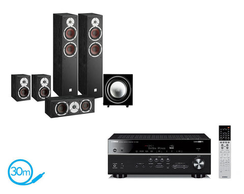 Yamaha RX-V683 AV Receiver & Dali Spektor 6 - 5.1 Speaker Package