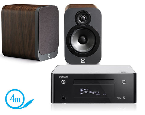 Denon CEOL N9 & Q Acoustics 3020 Speakers