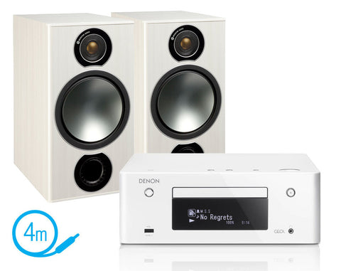 Denon CEOL N9 & Monitor Audio Bronze 2 Speakers