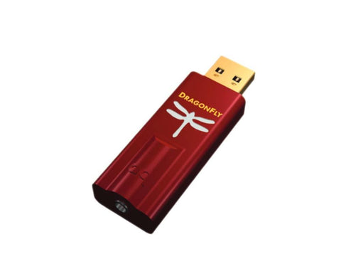 Audioquest Dragonfly Red USB DAC + Preamp + Headphone Amplifier