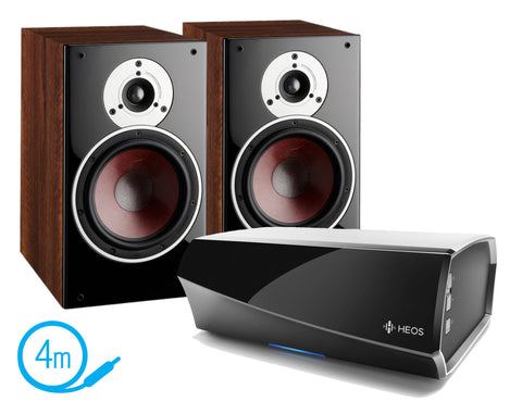 HEOS AMP & Dali Zensor 3 Speakers