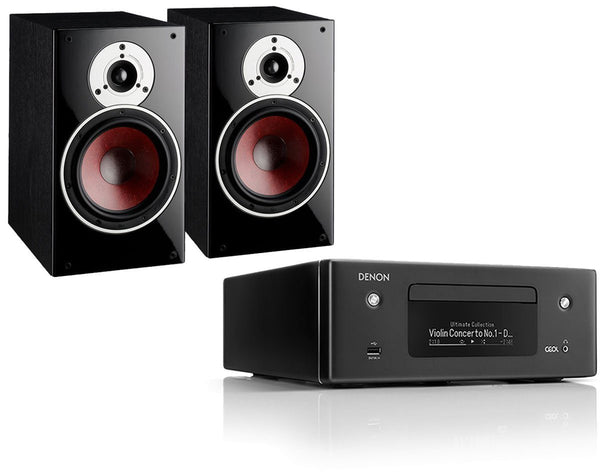 Hi-Fi Packages - Denon RCD-N10  Network HiFi System & Dali Zensor 3 Speakers
