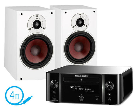 Marantz MCR611 & Dali Zensor 3 Speakers
