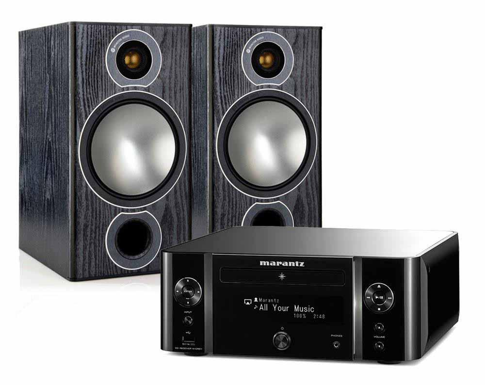 Marantz Mcr611 Monitor Audio Bronze 2 Speakers Audible Fidelity Ltd 6 Walnut