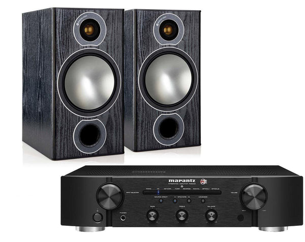 Hi-Fi Packages - Marantz PM6006 UK Edition & Monitor Audio Bronze 2 Bookshelf Speakers