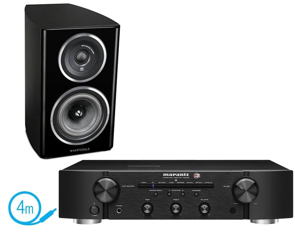Marantz PM6006 UK Edition Wharfedale Diamond 111 Bookshelf Speakers