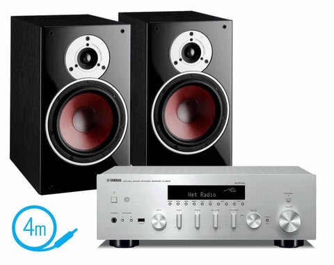Yamaha R-N602 & Dali Zensor 3 Bookshelf Speakers