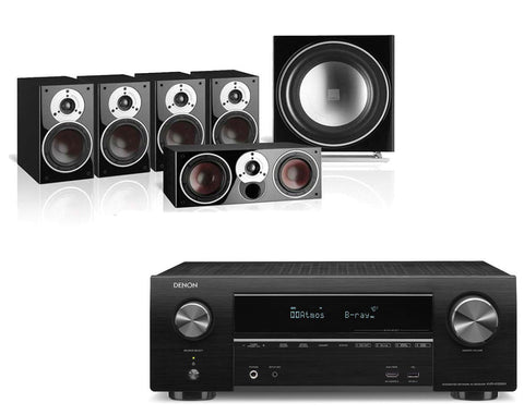 Denon AVR-X1500H AV Receiver & Dali Zensor 1 - 5.1 Speaker Package