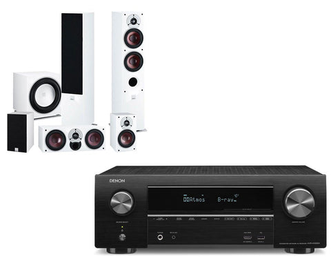 Denon AVR-X1500H AV Receiver & Dali Zensor 5 - 5.1 Speaker Package