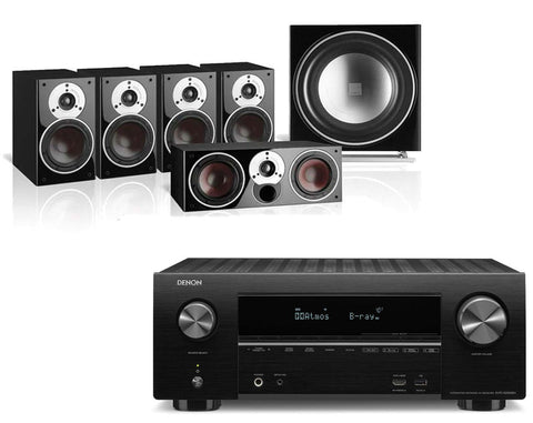 Denon AVR-X2500H AV Receiver & Dali Zensor 1 - 5.1 Speaker Package