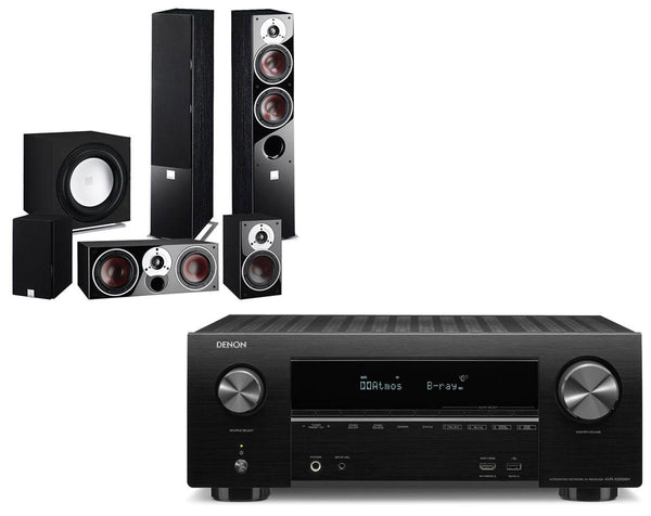 Home Cinema - Denon AVR-X2500H AV Receiver & Dali Zensor 5 - 5.1 Speaker Package