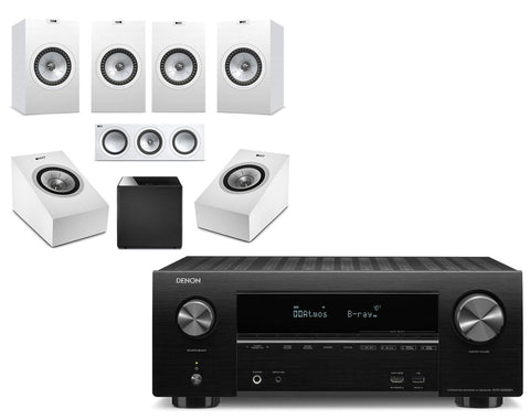 Denon AVR-X2500H AV Receiver & KEF Q350 - 5.1.2 Speaker Package