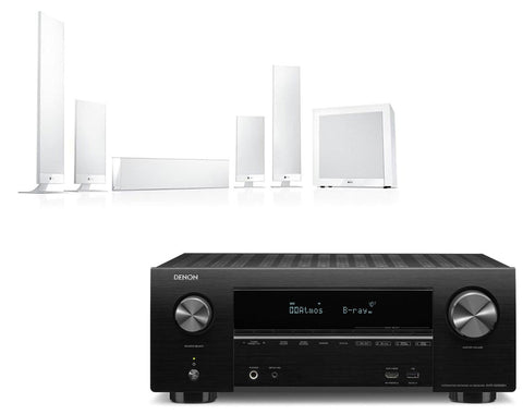 Denon AVR-X2500H AV Receiver & KEF T205 - 5.1 Speaker Package