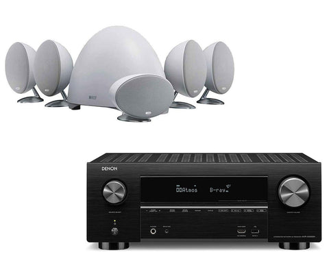 Denon AVR-X3500H AV Receiver & KEF E305 - 5.1 Speaker Package