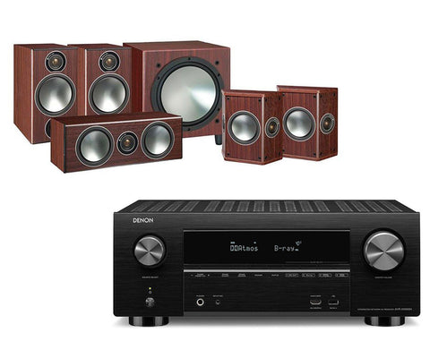 Denon AVR-X3500H AV Receiver & Monitor Audio Bronze 2 - 5.1 Speaker Package