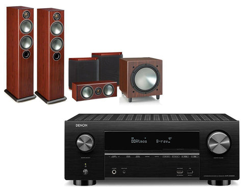 Denon AVR-X3500H AV Receiver & Monitor Audio Bronze 5 - 5.1 Speaker Package