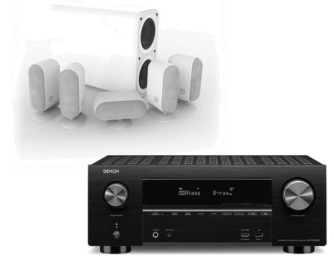 Denon AVR-X3500H AV Receiver & Q Acoustics Q7000 Plus - 5.1 Speaker Package