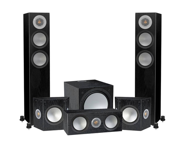 Home Cinema - Monitor Audio Silver 200-AV12 5.1 Speaker Package