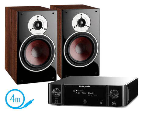 Marantz MCR511 & Dali Zensor 3 Speakers