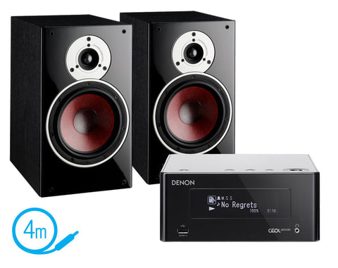 Denon Piccolo N4 & Dali Zensor 3 Speakers