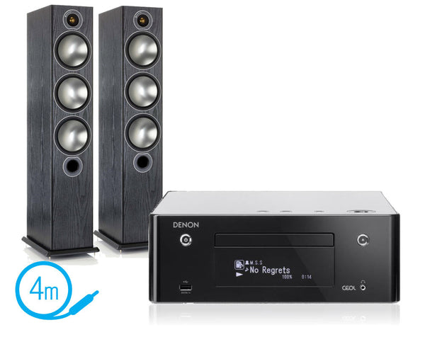 Denon CEOL N9 & Monitor Audio Bronze 6 Speakers