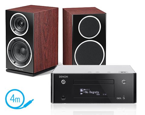 Denon CEOL N9 & Wharfedale Diamond 220 Speakers